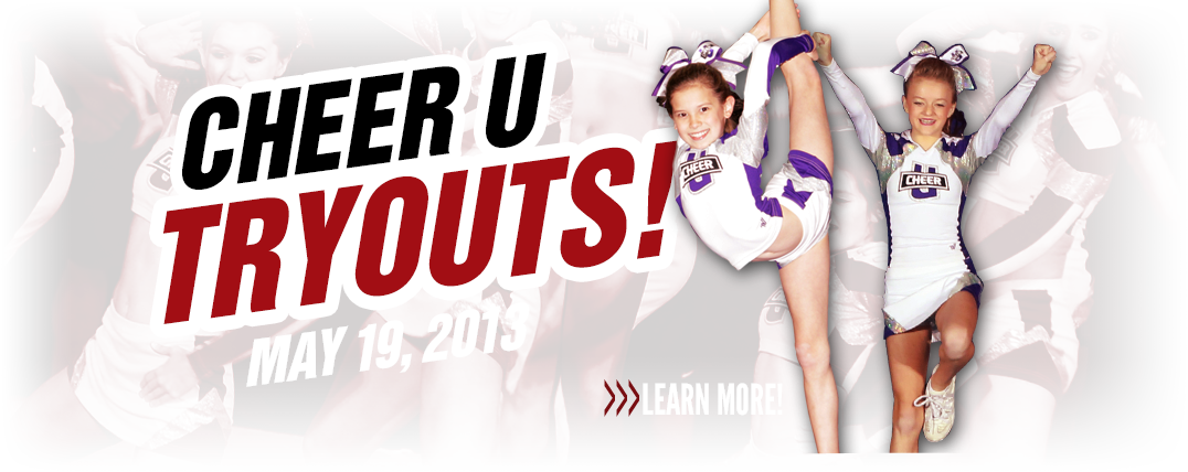 Cheer U 2013 Tryouts